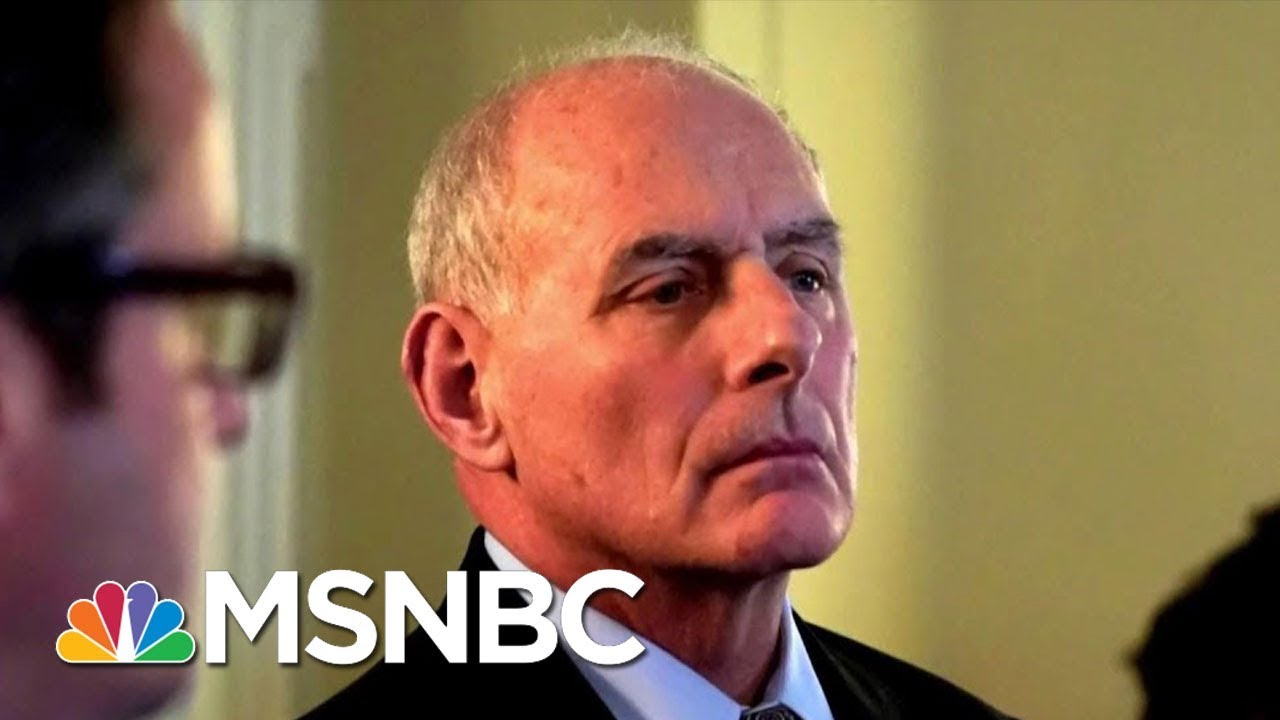 WH Staffers: Kelly Thinks He's Saving U.S. From Disaster, Calls Trump 'Idiot' | Deadline | MSNBC thumbnail