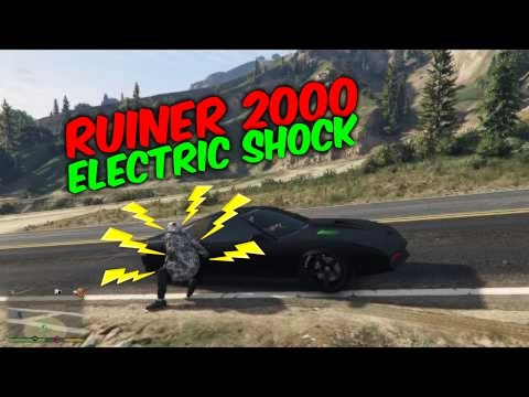 Gta 5 Online Ruiner 2000.Electric Shock(Gta 5 Online Funny Moments)