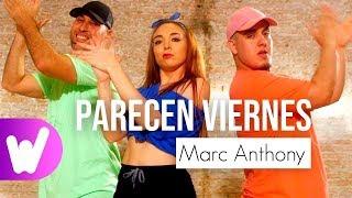 PARECEN VIERNES – Marc Anthony | COREOGRAFÍA PASO A PASO
