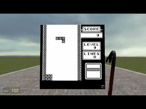 Gameboy Emulator in Half Life 2 Mod:)