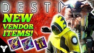 """Destiny: """"NEW VENDOR GEAR!"""" Destiny Reef Vendor Items (Trials of Osiris & Prison of Elders Items)"""