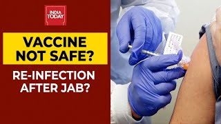 Coronavirus Latest News| Re-Infection After Covid Jabs? All Your Doubts Are Addressed Here - Download this Video in MP3, M4A, WEBM, MP4, 3GP