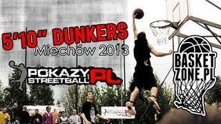 preview picture of video 'PokazyStreetball.pl - Miechów 2013 HADZBE ŚLEDZIU 5'10 DUNKS'