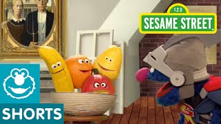 Sesame Street: Super Grover Paints a Still Life