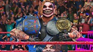 THE FIEND WYATT SNATCHES ALL THE CHAMPIONSHIP BELTS!   WWE 2K20 Universe Mods