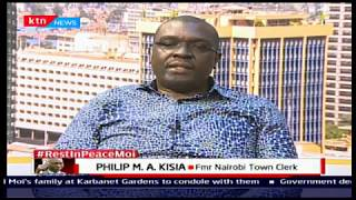 Philip Kisia:Moi set a solid foundation for education, he employed a lot of resources to the sector
