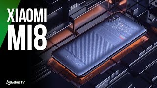 Xiaomi Mi 8: POTENTE, con Notch y FACE ID | + Mi band 3