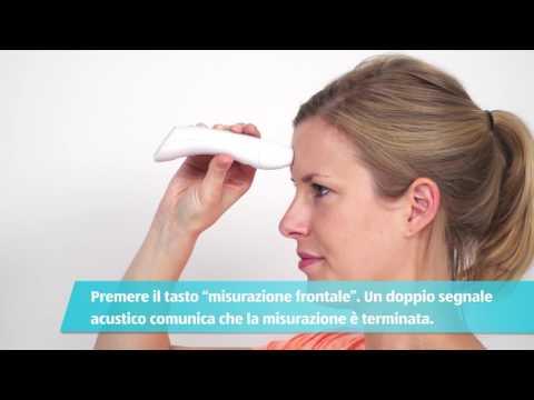 Termometro frontale e auricolare