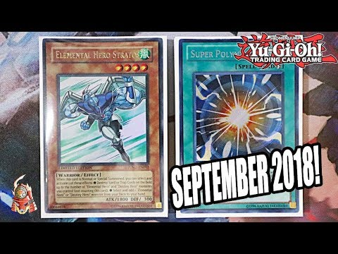 Yu-Gi-Oh! BEST! ELEMENTAL HERO STRATOS MASKED HERO DECK PROFILE + COMBO! SEPTEMBER 17, 2018 BANLIST!