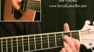 How To Play Joni Mitchell Coyote (intro only)