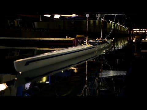 Kan  riktig coating bidra til gull i Tokyo? Her er roerne Olav Tufte og Kjetil Borch i aksjon i semifinalen i OL i Rio De Janeiro i 2016. Da ble det bronsemedalje. Foto: NTB