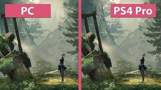 4K UHD | NieR Automata – PC vs. PS4 Pro 4K Mode Graphics Comparison