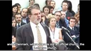 Krzyż w klasie - Joseph Weiler przed Europejskim Trybunałem Praw Człowieka