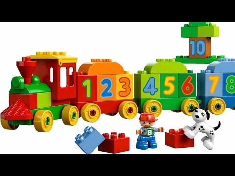 El Tren de los Números de Lego Duplo Juguetes