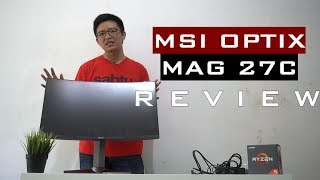 msi optix g27c2 27in 144hz curved gaming monitor