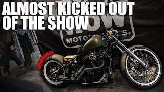 Almost Kicked Out of the Motorcycle Show