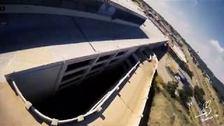 1st Day OUT LOCKDOWN l ABANDONED DEATHDROP l CHINAMALL l FPV FREESTYLE