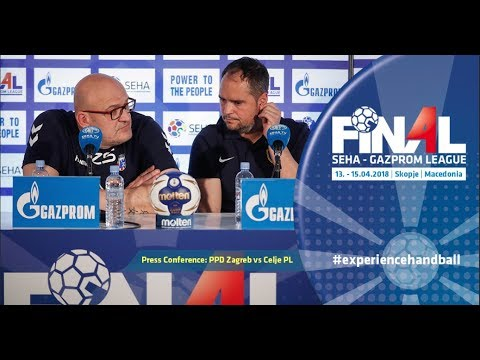 Final 4: Press Conference: PPD Zagreb vs Celje PL