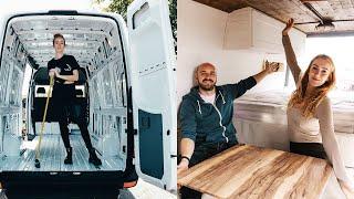 OUR VAN CONVERSION (FULL TIME LAPSE) | DIY Sprinter Van Conversion | #VanLife UK