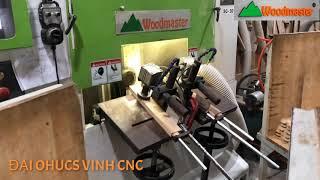 MÁY PHAY MỘNG 1 ĐẦU CNC. MÁY LÀM MỘNG DƯƠNG CNC 1 Đầu Woodmaster cao tốc giá tốt