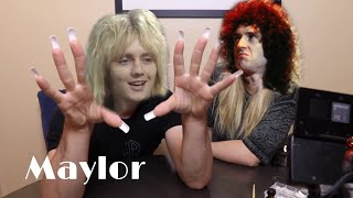 Queen (Maylor) but Brian is Jenna Marbles and Roger is Julien