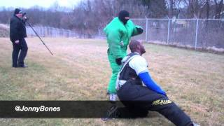 "Jon ""Bones"" Jones Behind The Scenes Police Training"