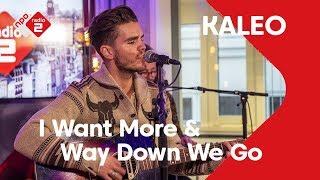 KALEO - 'I Want More' & 'Way Down We Go' live @ Jan-Willem Start Op!