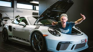 BUYING A PORSCHE 991.2 GT3RS AT 18 YEARS OLD! *EURO DELIVERY*