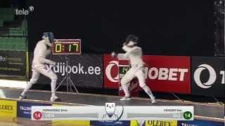 Unglaubliche Aufholjagd von Max Heinzer in 30 Sekunden (8:14 zum 15:14) WC Halbfinale 2013 Tallinn