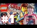 Playing The LEGO Movie (Part 1) (KID GAMING)