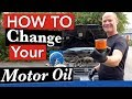 How to Change your Motor Oil, Save $$, & Protect Your Warranty