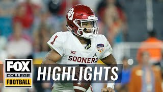 Kyler Murray's Top 5 plays from 2018   FOX COLLEGE FOOTBALL HIGHLIGHTS