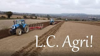 🔴Ploughing 2020 With Cooladine Farms! | New Holland T7060, TM190, Fendt 724 | 4K