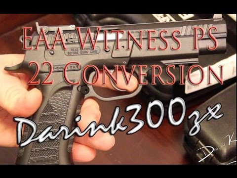 EAA Tanfoglio Witness 22 conversion