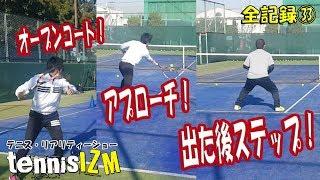 テニスドリル②フェデラーだってジョコビッチ、ワウリンカ相手に前に出た!tennisism33