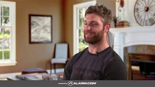 Washington Capitals' defenseman, Karl Alzner, protects his home with Alarm.com