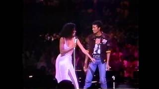Diana Ross & Michael Jackson Upside Down HD Live in Los Angeles 1981