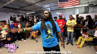 """BABS BUNNY & VAGUE presents """"QUEEN OF THE RING"""" MS HUSTLE VS O-RED"""