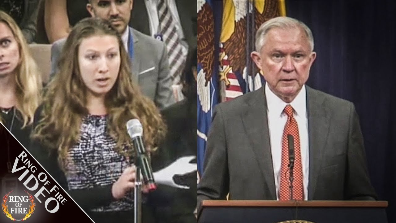 Interns Grill Jeff Sessions Over His Stance On Marijuana thumbnail