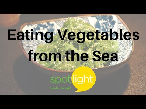 Eating Vegetables from the Sea | practice English with Spotlight