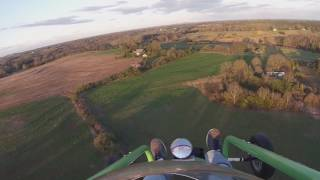 PARAMOTOR GreenEagle take off 3-28-17 vale nc