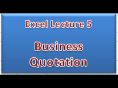 mp4 Business Quotation, download Business Quotation video klip Business Quotation