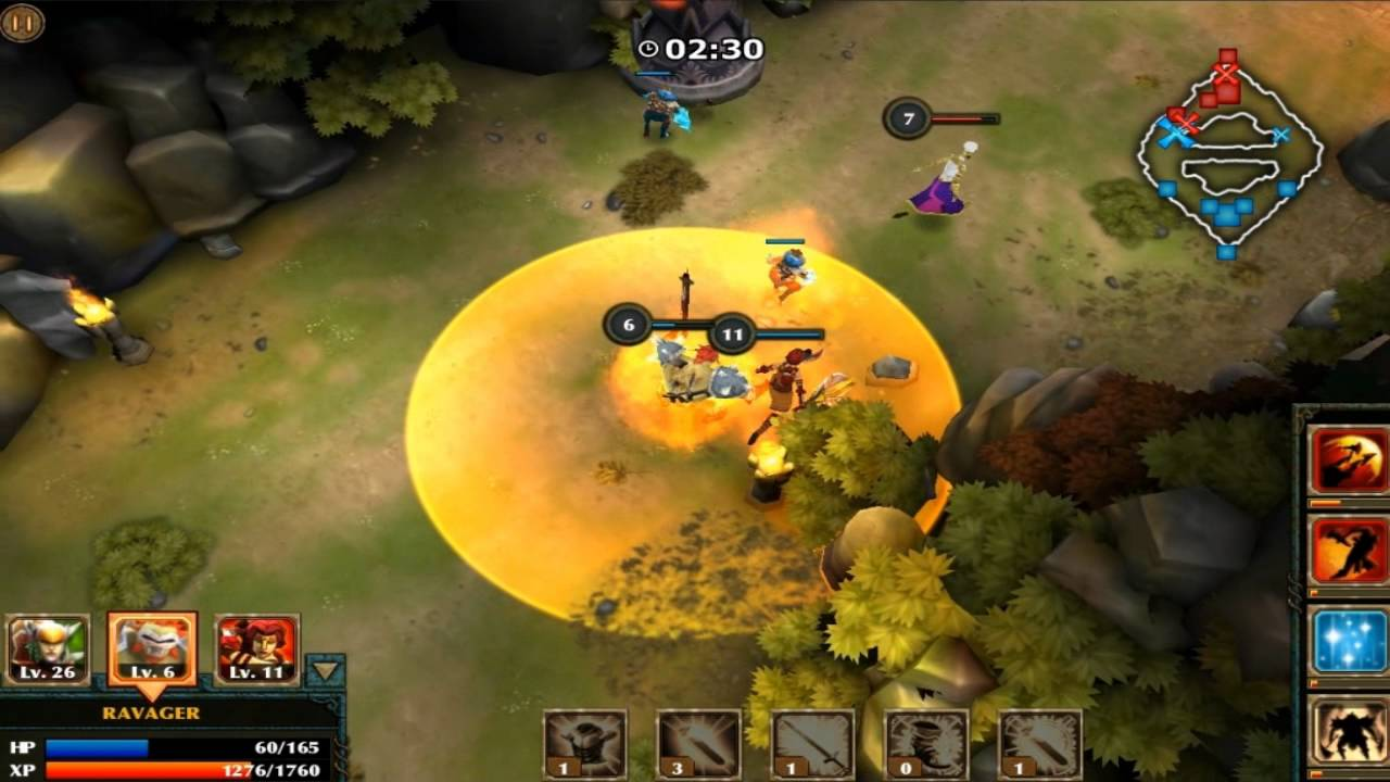 It's Like League Of Legends. Only, For The IPhone.