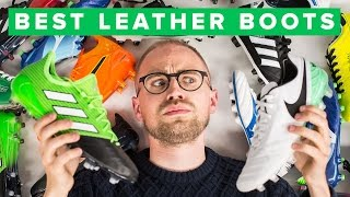 TOP 5 LEATHER FOOTBALL BOOTS - Which is best?