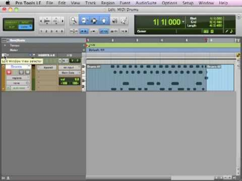 Creating Custom MIDI Drum Loops – TheRecordingRevolution.com