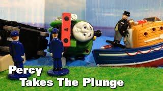"""トーマス プラレール ガチャガチャ うみにおちたパーシー Tomy Plarail Thomas """"Percy Takes The Plunge."""""""