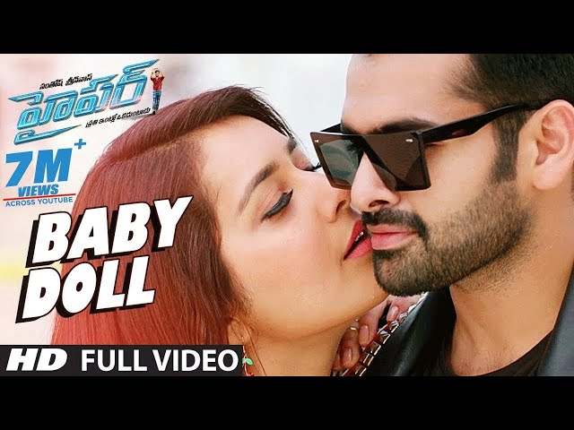 Baby Doll Full Video Song HD | Hyper Movie Songs | Ram, Raashi Khanna