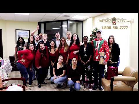 video thumbnail Happy Holidays from Freeman Injury Law!