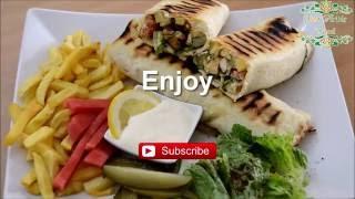 Chicken Shawarma - Syrian recipe - just Arabic food