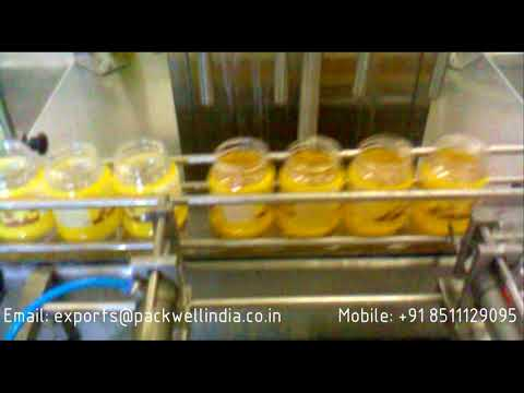 Automatic Ghee Filling Machine